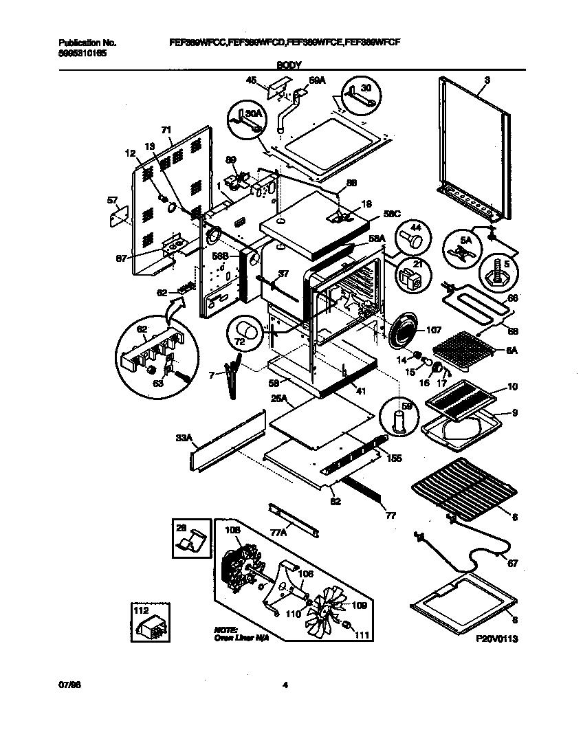 frigidaire gallery stove wiring diagram