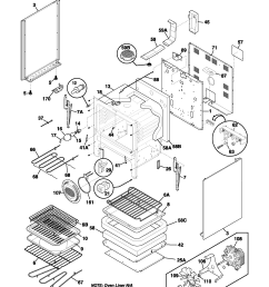fefl88acc electric range body parts diagram [ 1700 x 2200 Pixel ]