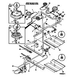 fgf379wecf gas range burner parts diagram [ 848 x 1100 Pixel ]