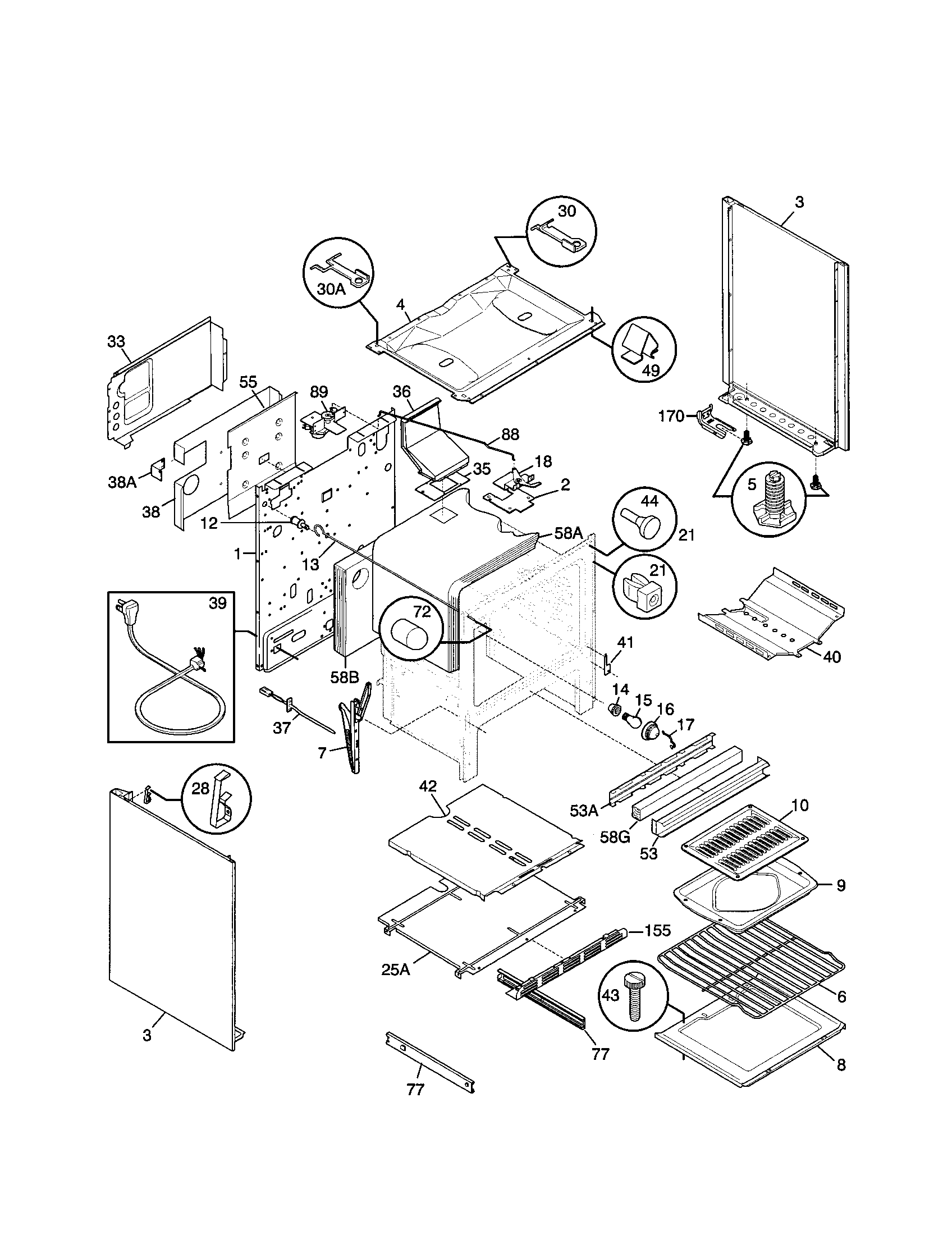 frigidaire gallery dishwasher parts diagram 1998 ford ranger 4x4 wiring fgf379wecs range timer - stove clocks and appliance timers