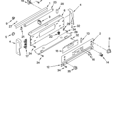 gjp85802 free standing electric control panel parts diagram [ 3348 x 4623 Pixel ]