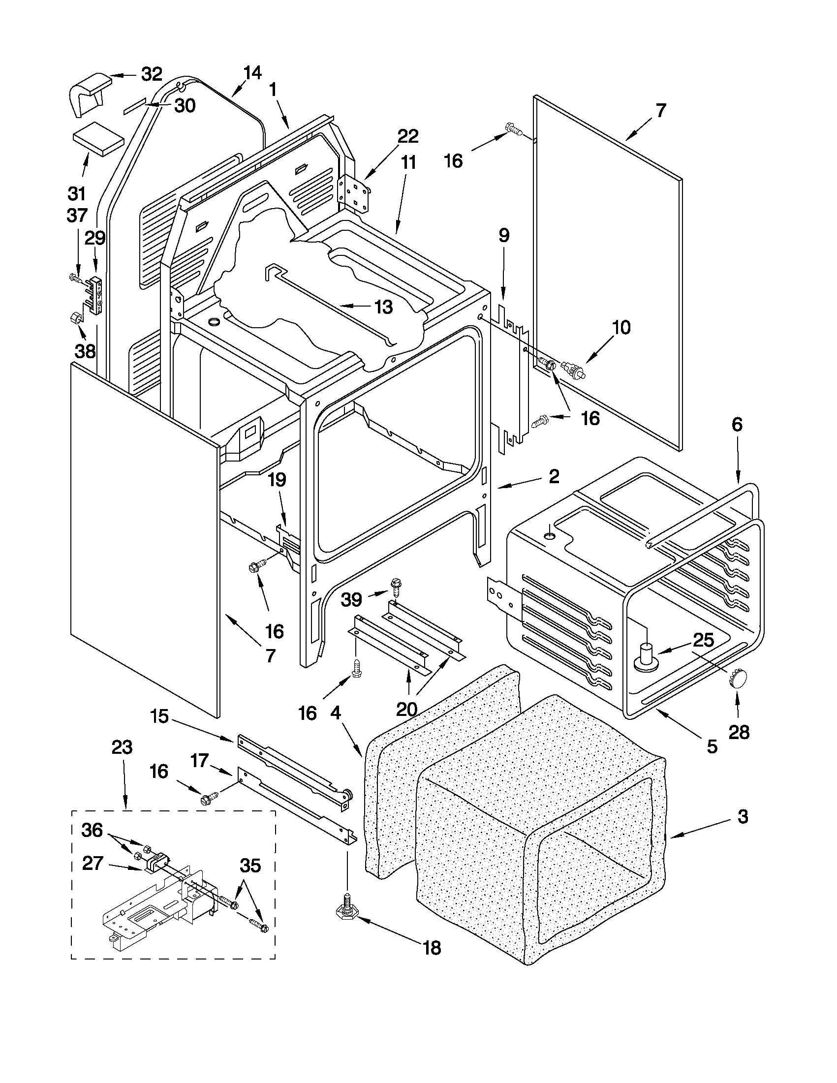Ge Quiet Power 3 Dishwasher Parts Diagram