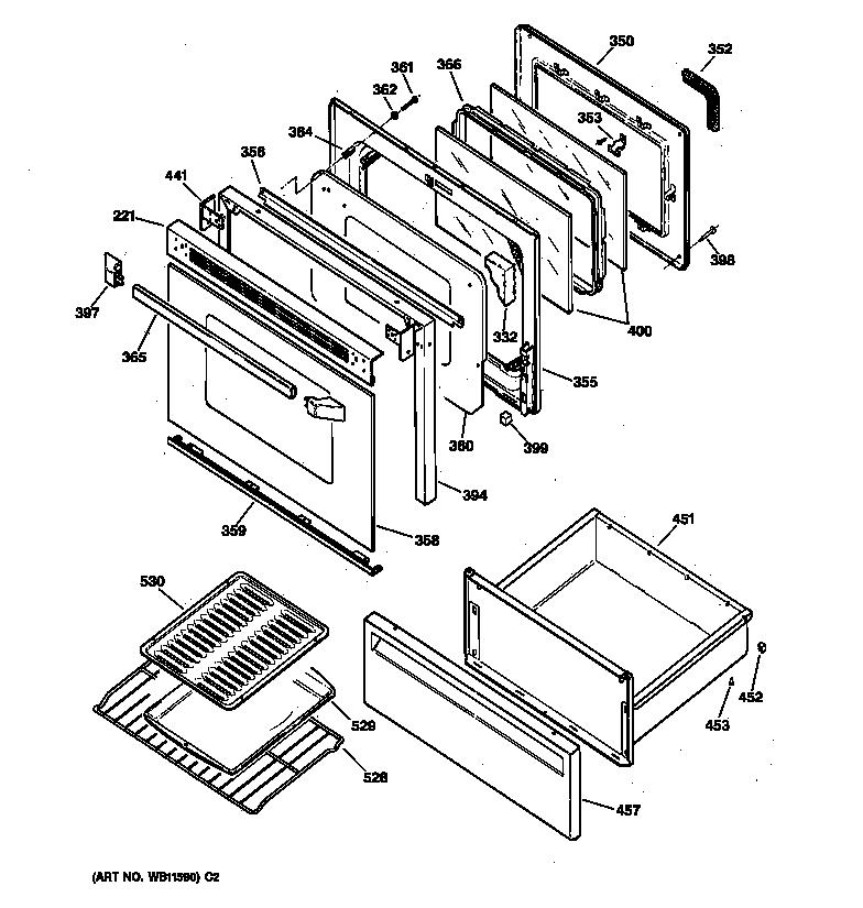 ge electric range schematic
