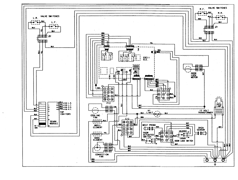 medium resolution of ge profile oven schematic completed wiring diagrams ge appliances schematic diagram ge refrigerator control board wiring