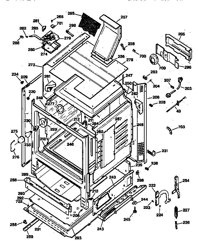 ge gas range wiring schematic