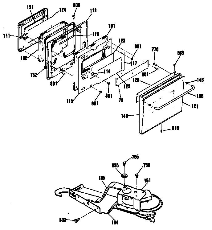 Kenmore Range Model 790 Gas Range Parts Sears Stove