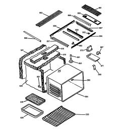 jsp69wvww 30 slide in downdraft range maintop oven assembly parts diagram [ 2320 x 2475 Pixel ]