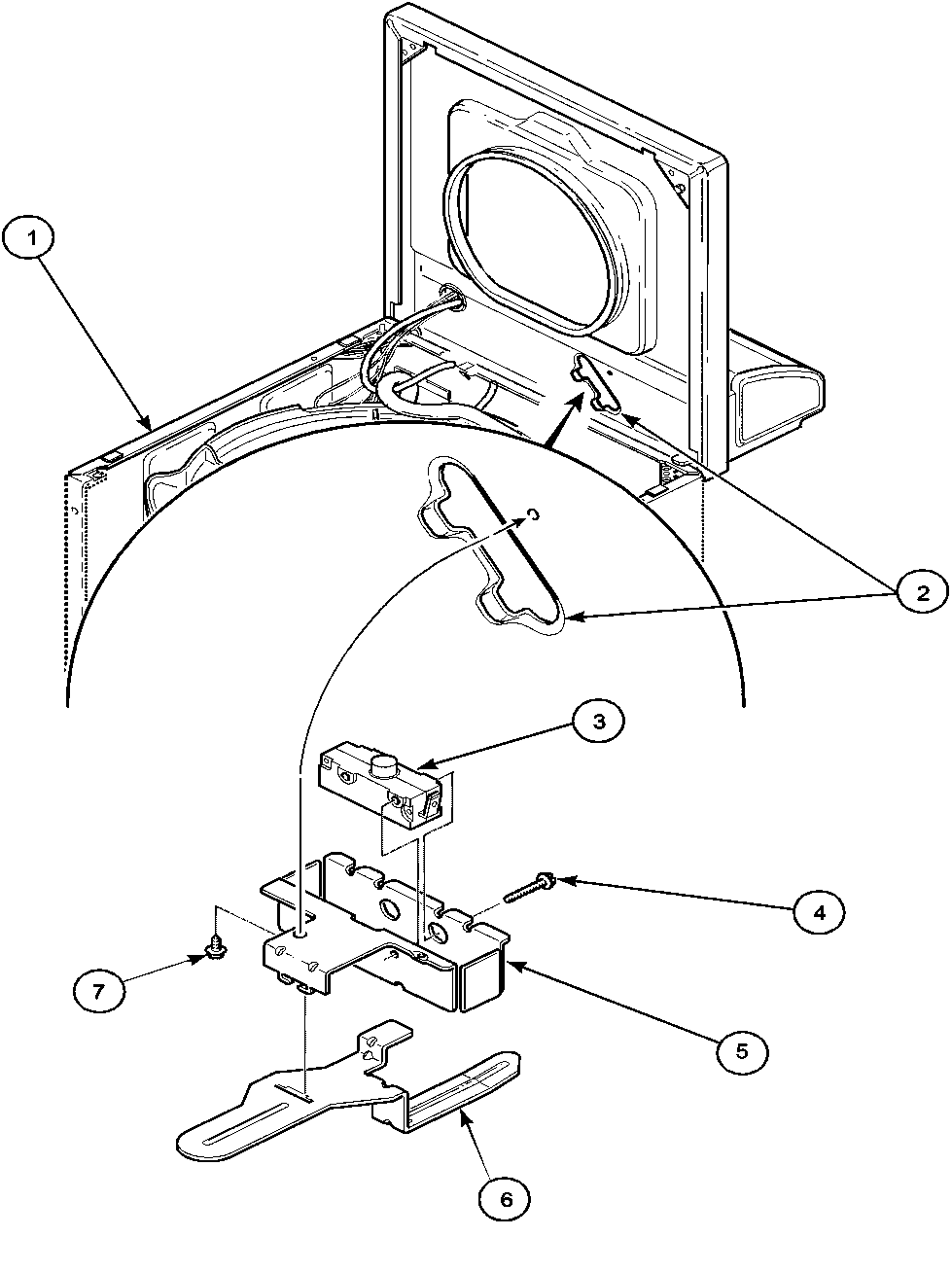 whirlpool washer parts diagram 4 wire trailer wiring amana lwa40aw2 top loading timer - stove clocks and appliance timers