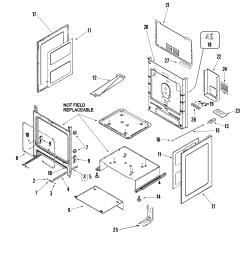 mer5875qcf range cabinet parts diagram [ 2250 x 3000 Pixel ]