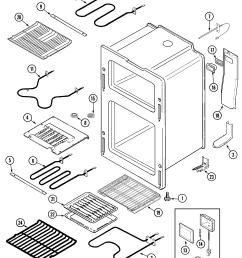 oven parts diagram [ 2250 x 2681 Pixel ]