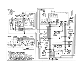 Wiring Diagram For Whirlpool Refrigerator Nordyne E1eh Maytag Mer6772baw Range Timer - Stove Clocks And Appliance Timers