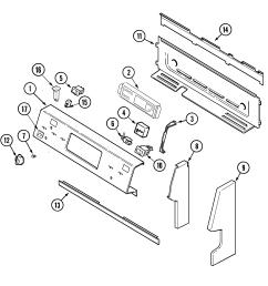 mer6772bcb range control panel parts diagram [ 1937 x 1865 Pixel ]