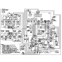 Timer Wiring Diagram Nissan 1400 Coil Maytag Mer6772bcb Range Stove Clocks And Appliance