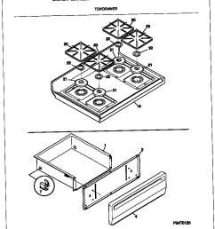 mgf354cgsc gas range top drawer parts diagram [ 848 x 1100 Pixel ]
