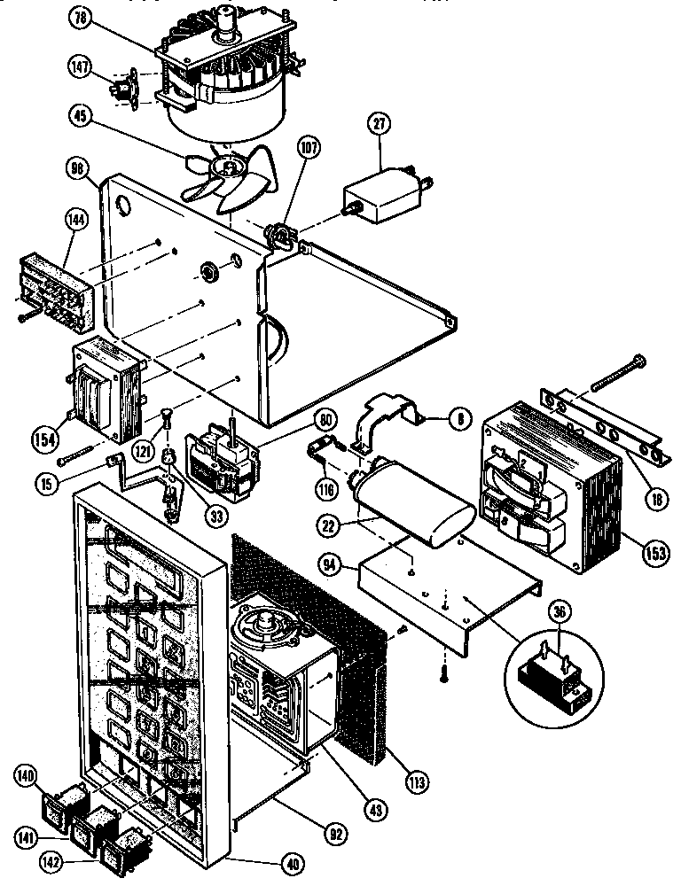 Diagram Wiring Diagrams For Microwave