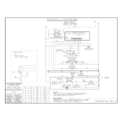 Electric Oven Wiring Diagram Hospital Management System Sequence Electrolux Pglef385cs3 Range Timer Stove Clocks