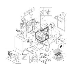 Frigidaire Gallery Dishwasher Parts Diagram 88 Key Piano Keyboard Pglef387cs2 Electric Range Timer Stove Clocks