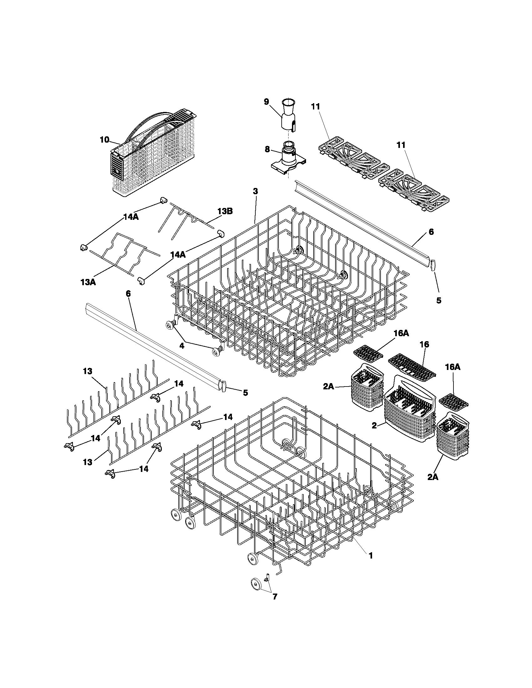 hight resolution of fdb1050rec2 frigidaire dishwasher manual