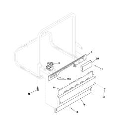 fghd2433kw1 frigidaire dishwasher manual [ 1700 x 2200 Pixel ]