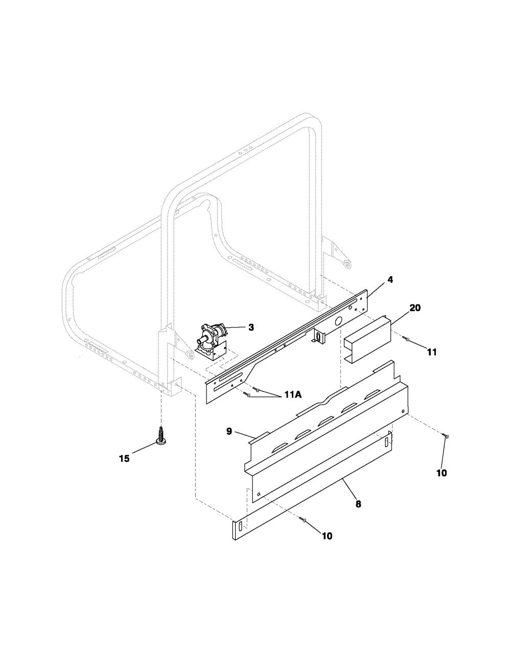 medium resolution of fghd2433kw1 frigidaire dishwasher manual