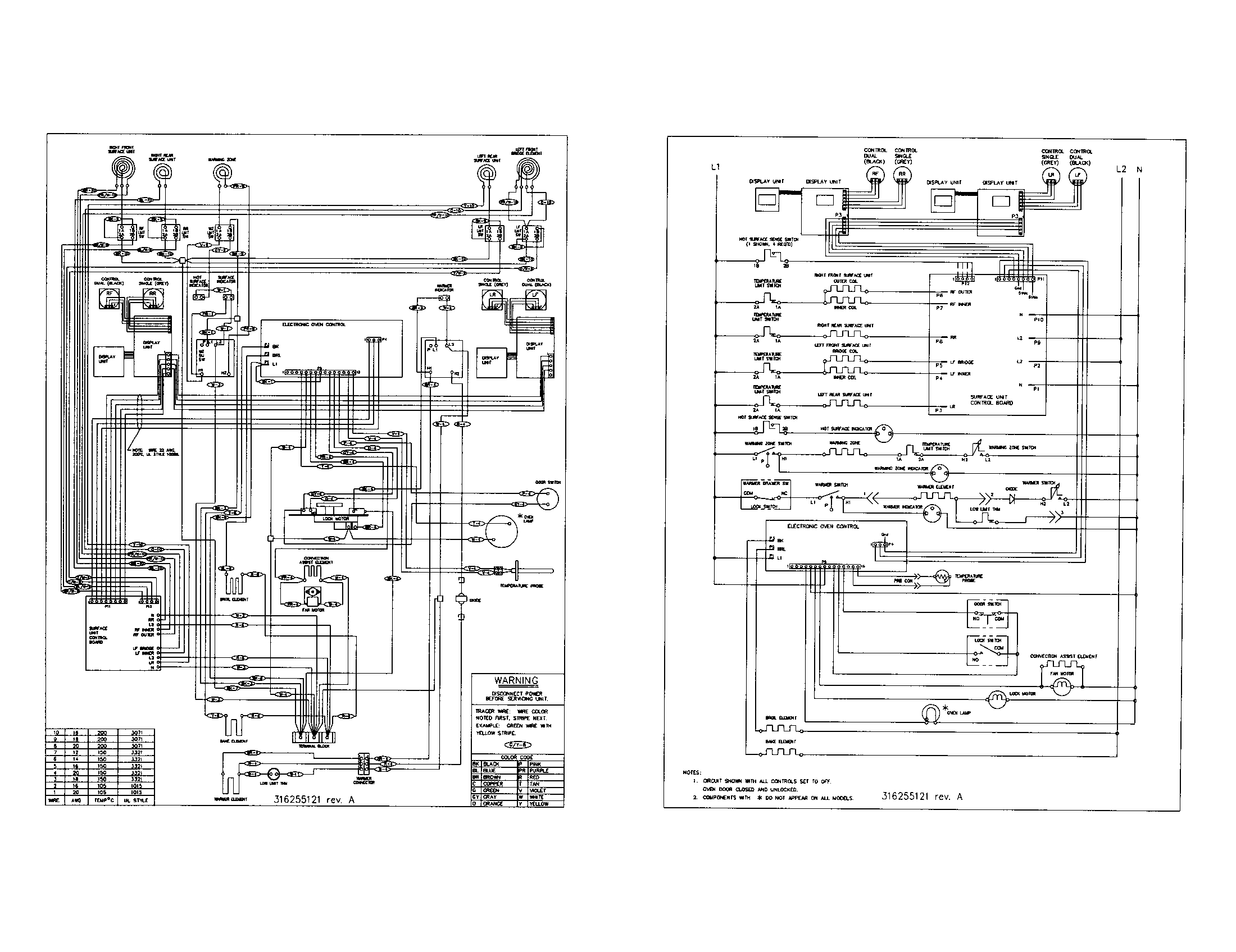 Vacuum Electrical Schematic