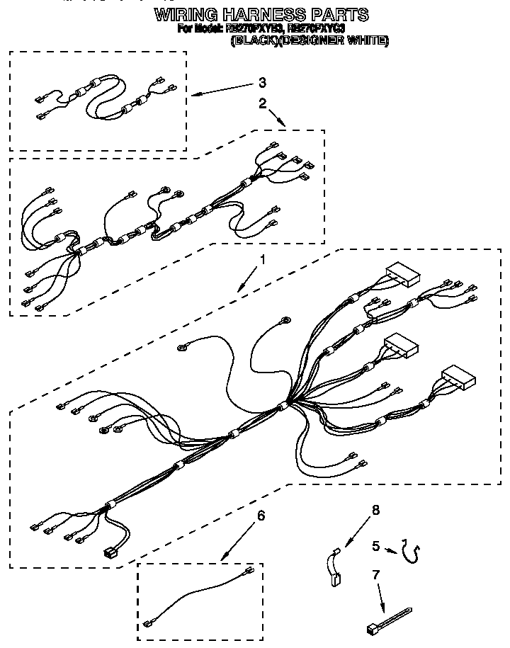 Whirlpool RB270PXYB 30