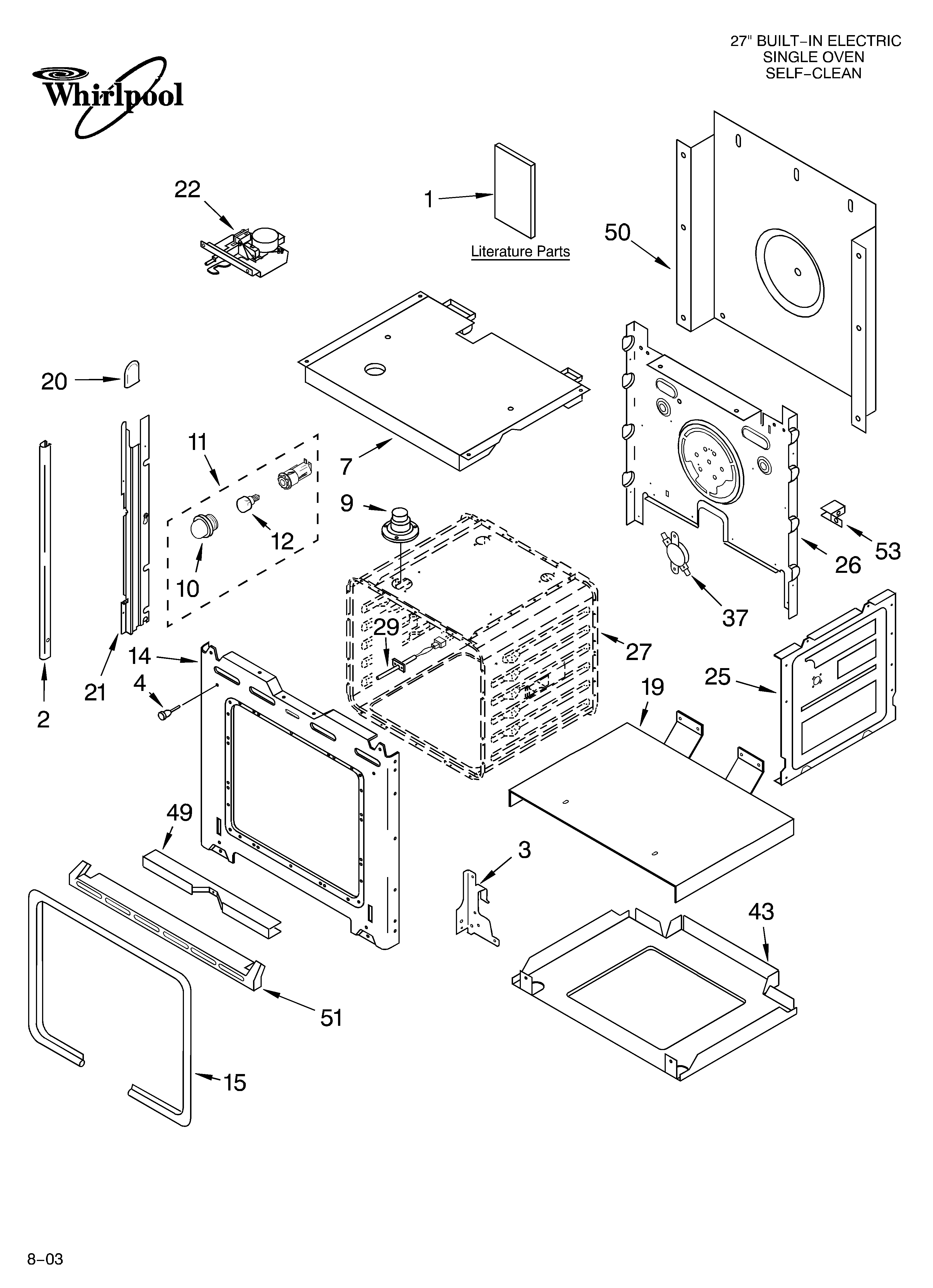 whirlpool stove wiring diagram
