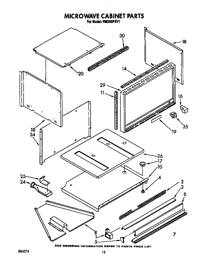 Parts For Microwave Whirlpool