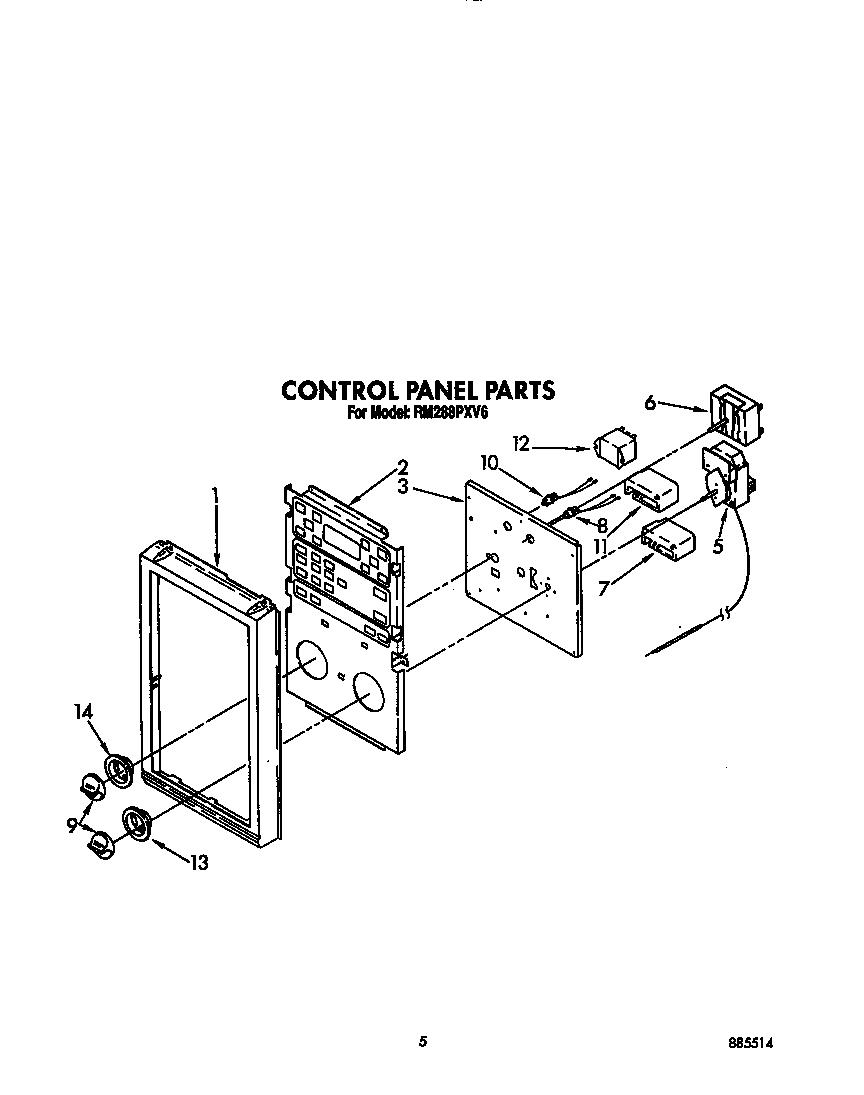 whirlpool microwave wiring diagrams