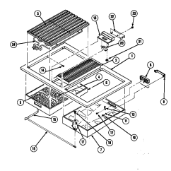 Jenn Air Refrigerator Parts Diagram Stihl 015 S120c Timer Stove Clocks And Appliance Timers Range Top Assembly
