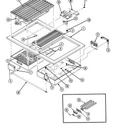 s136 range top assembly parts diagram [ 2520 x 3300 Pixel ]