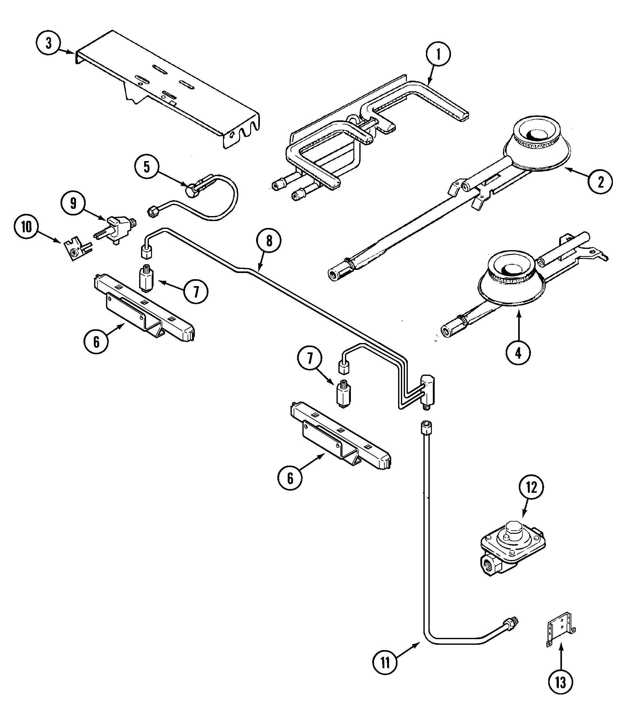 gas grill wiring diagram
