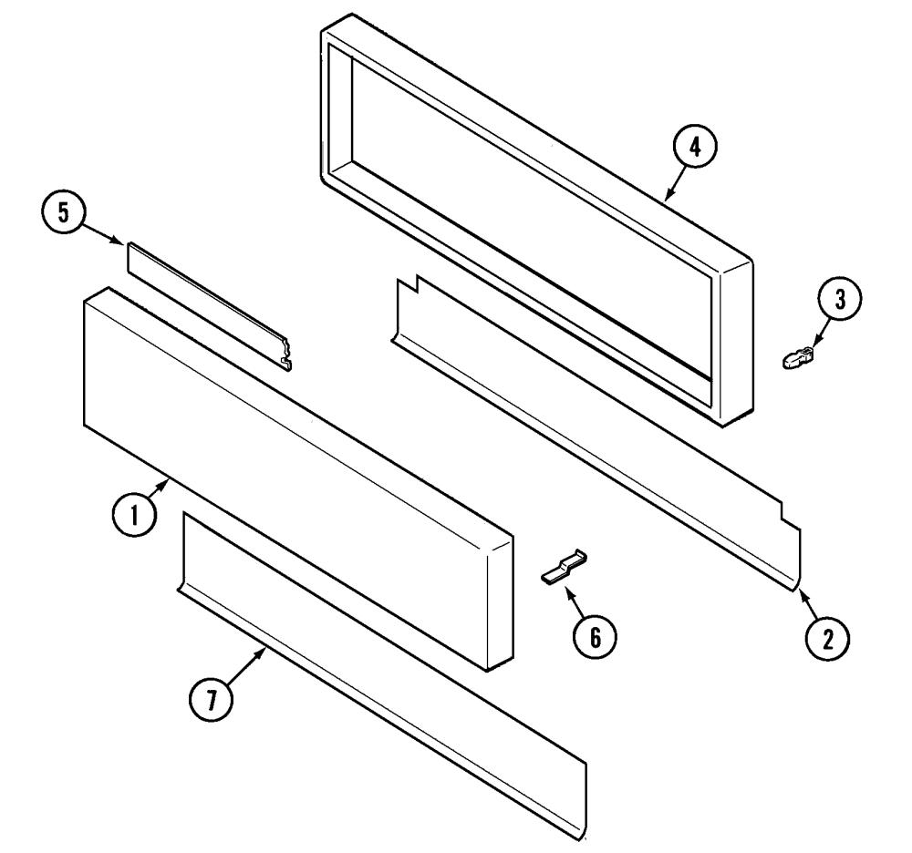 medium resolution of svd48600p gas electric slide in range access panel parts diagram
