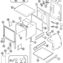 Jenn Air Refrigerator Parts Diagram Light Wiring Multiple Lights Cooktop Repair Manual Books Svd48600p Gas Electric Slide In Range Body