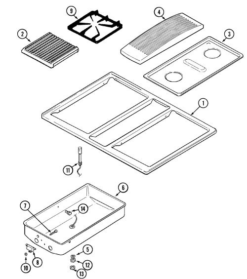 small resolution of jenn air svd48600p gas electric slide in range timer stove clocks jenn air range wiring diagram