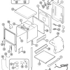 Jenn Air Refrigerator Parts Diagram Three Phase Generator Wiring Sve47600 Electric Slide In Range Timer Stove