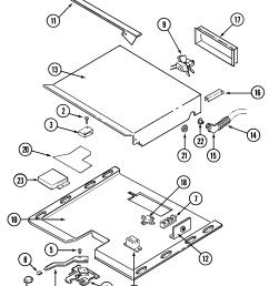 w131b range internal controls parts diagram [ 1605 x 2133 Pixel ]