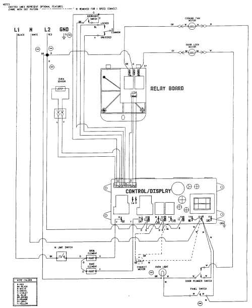 small resolution of w27100b electric wall oven wiring information parts diagram