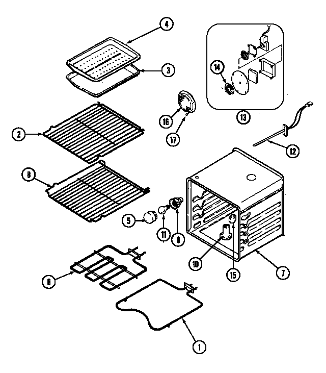Kenmore Wall Oven Parts