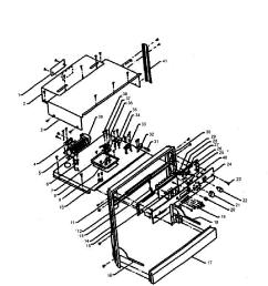 w305 oven trim chassis parts diagram [ 2397 x 2556 Pixel ]