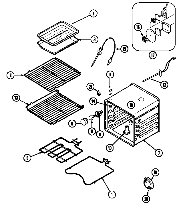 Hotpoint Oven Parts Diagram