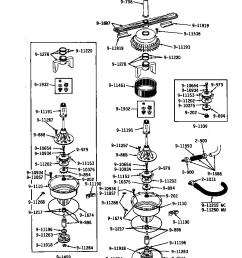 wu502 dishwasher pump assembly parts diagram [ 848 x 1100 Pixel ]