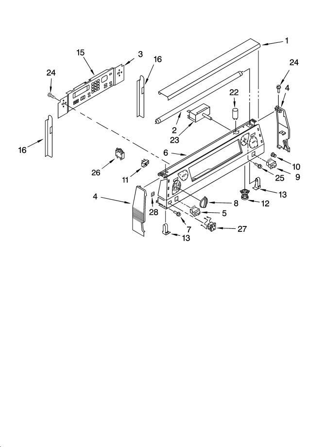 kitchenaid electric range replacement parts - kitchen design
