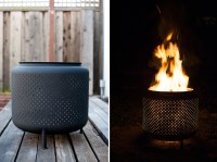 Transform an Old Washer Drum into an Outdoor Fire Pit ...