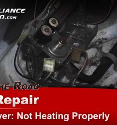 amana ndg5500tq0 dryer diagnostic and repair not heating properly main coil kit [ 1920 x 1080 Pixel ]