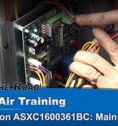 central air conditioner solid state board troubleshooting diagnostics appliance video [ 1920 x 1080 Pixel ]