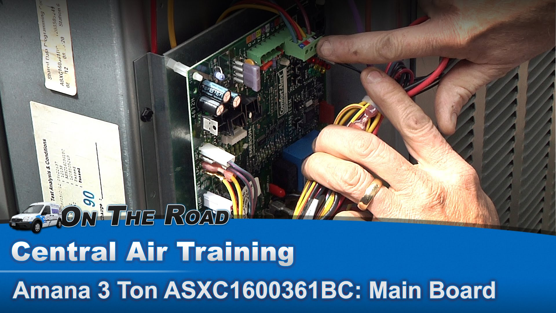 hight resolution of central air conditioner solid state board troubleshooting diagnostics appliance video