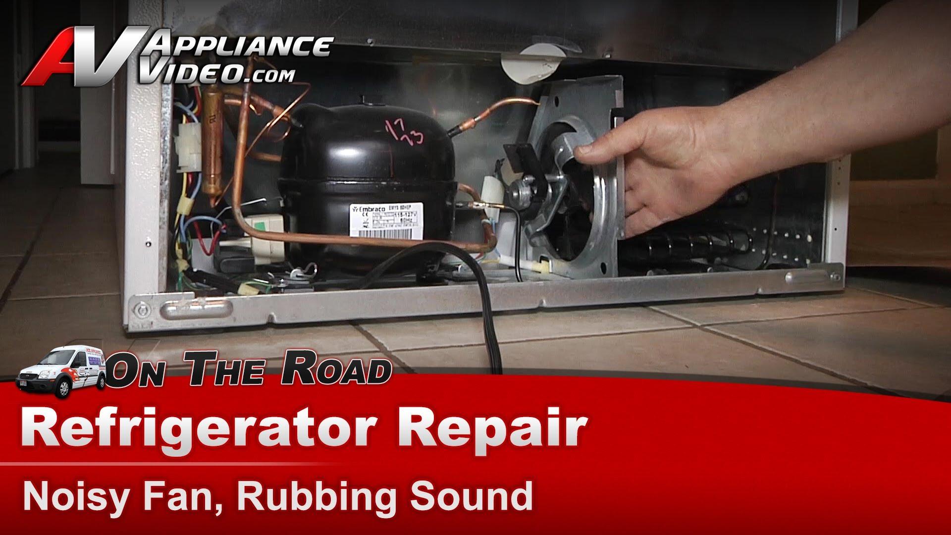 Maytag Refrigerator Wiring Diagram Frigidaire Frt18l4jwb Refrigerator Repair Noisy Fan