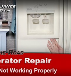 kenmore 10659597990 refrigerator repair ice maker not working bracket [ 1920 x 1080 Pixel ]
