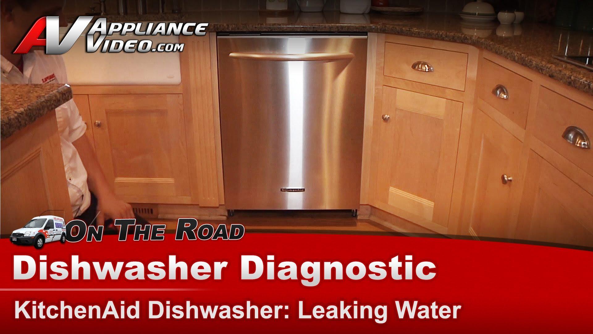 kitchen aid wall oven soapstone countertops kitchenaid kudi02frss2 dishwasher diagnostic – leaking ...